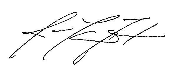 James Foster electronic signature