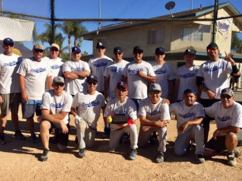 LBPOA 2018 softball winners